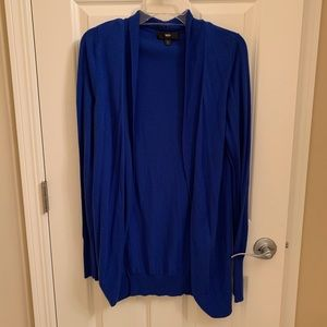 Cuddle Up in a Cool, Cozy & Comfy Cobalt Cardigan